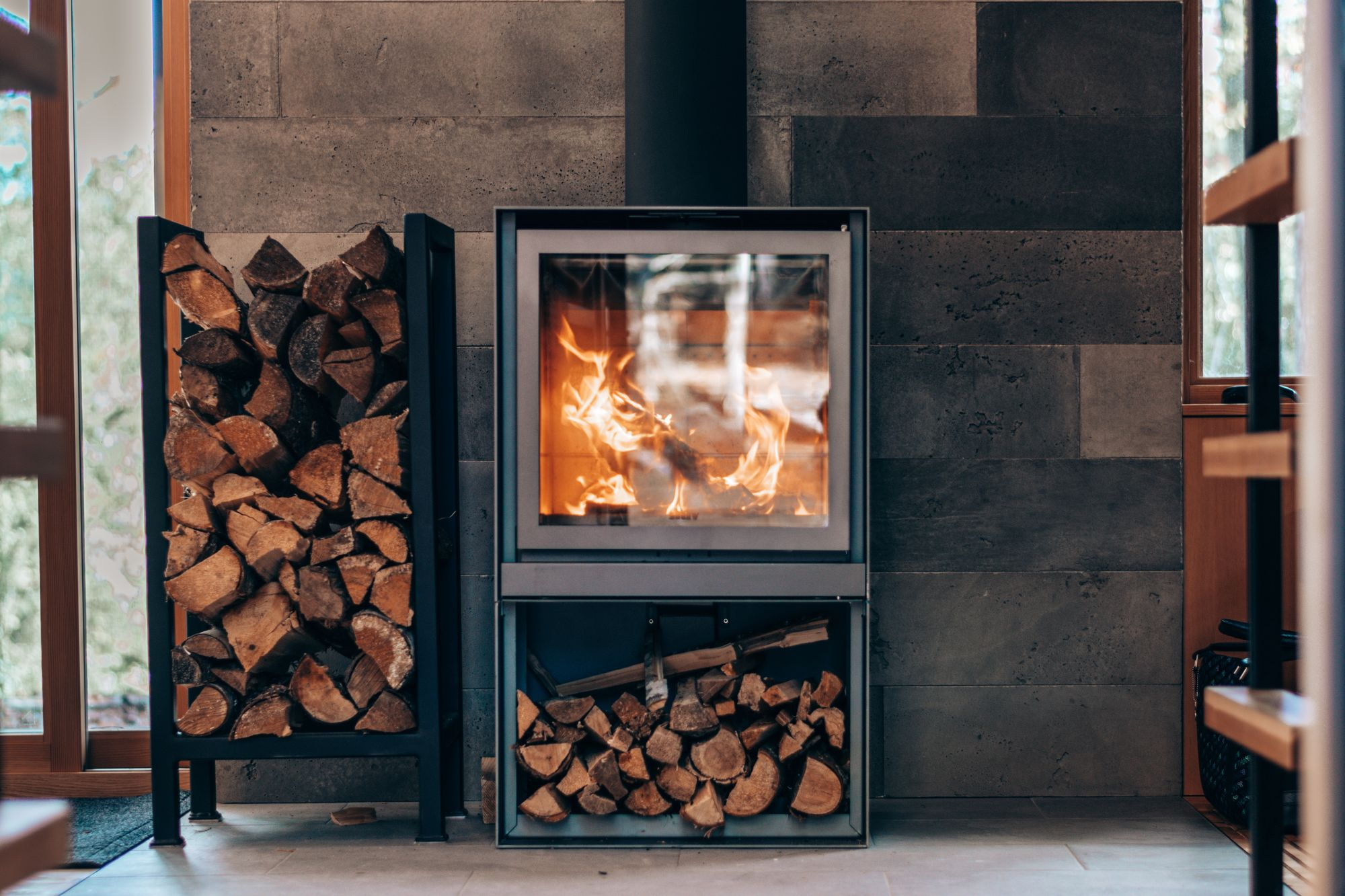 Airbnb Indoor Fireplace Filter