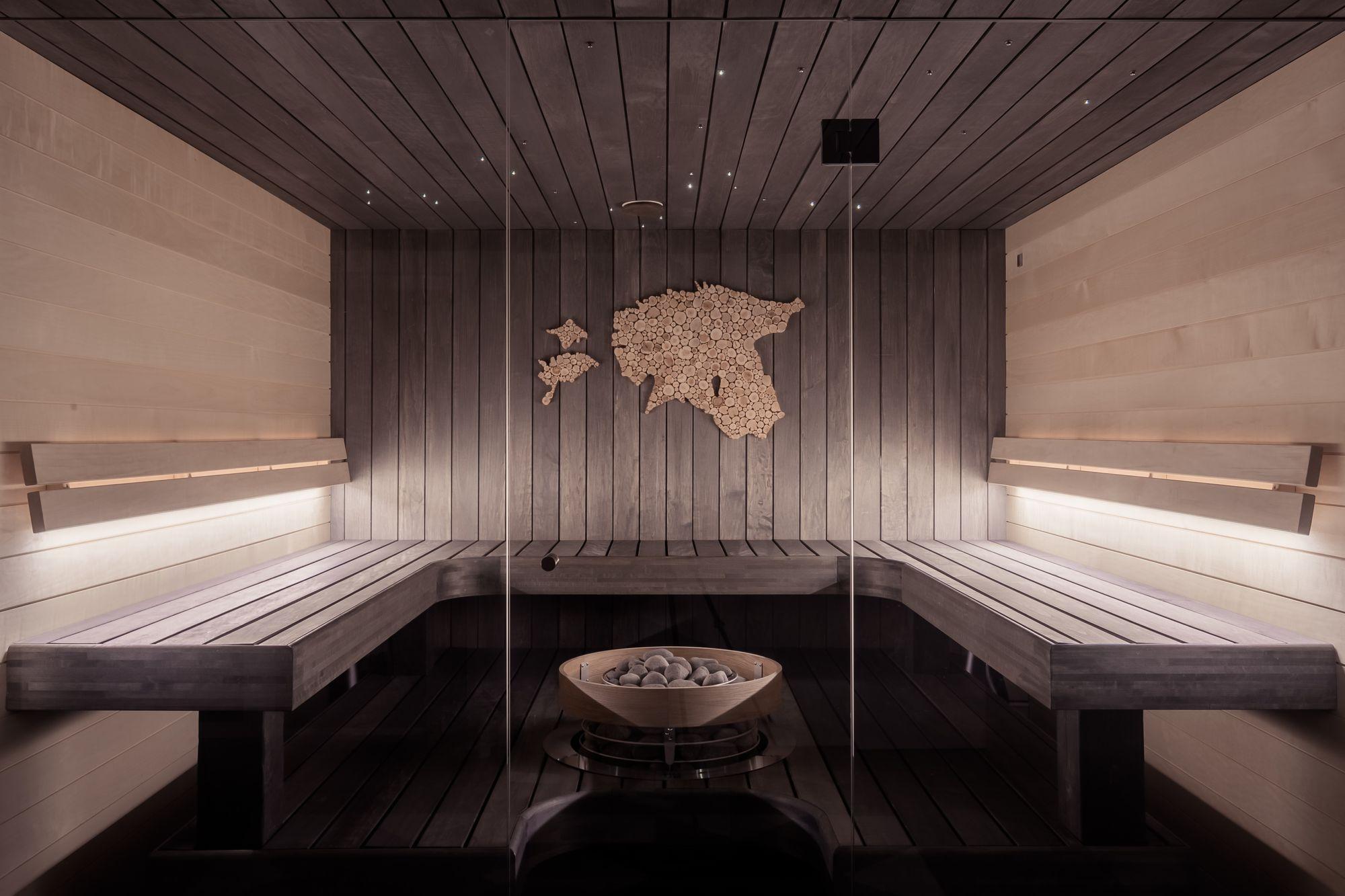 Airbnb with steam sauna