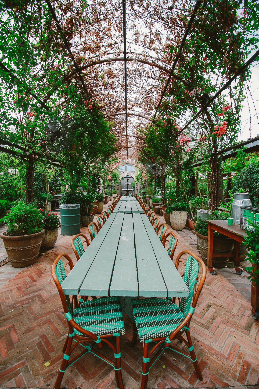Alfresco (outdoor) dining