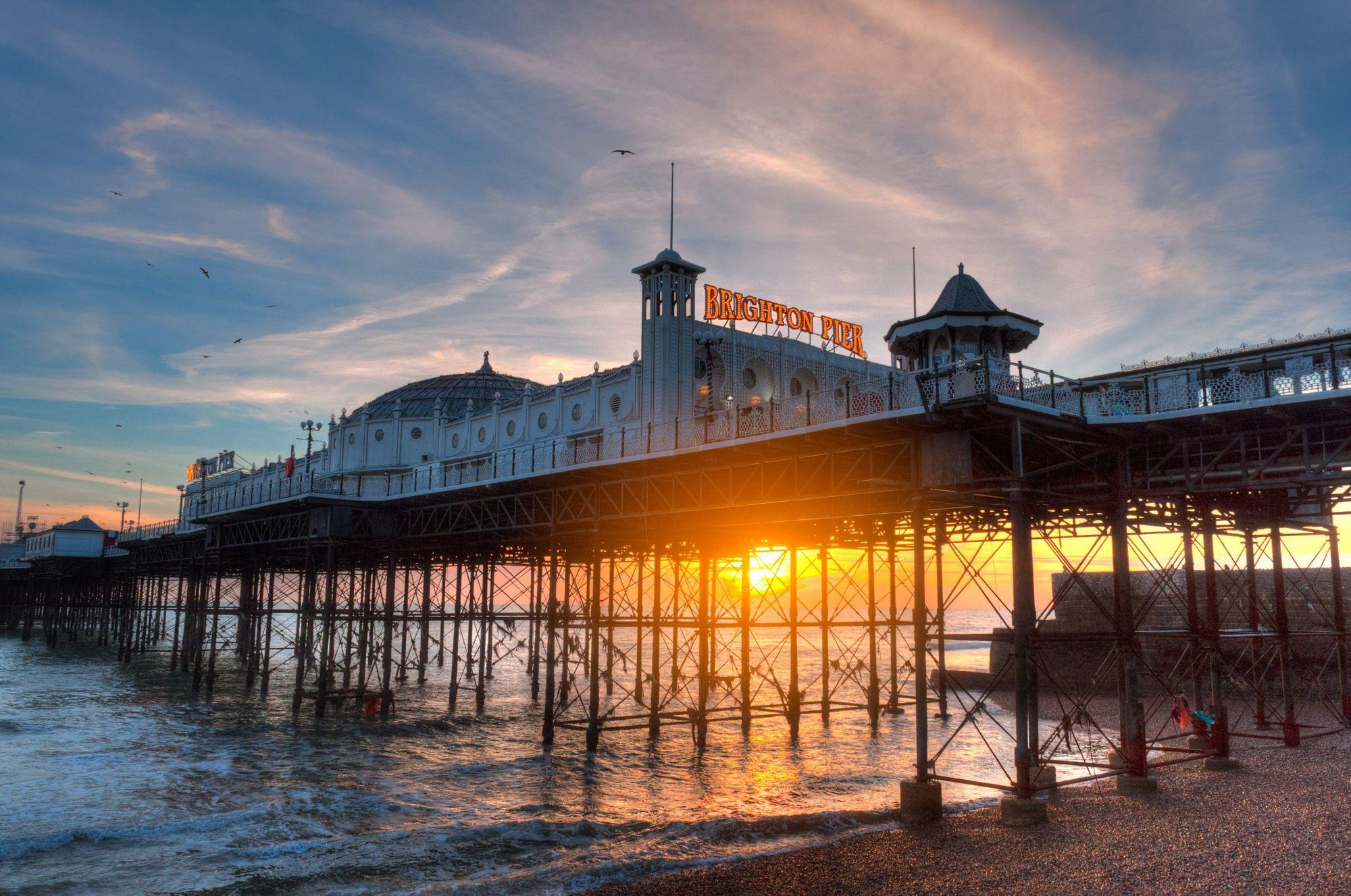 Brighton sea view