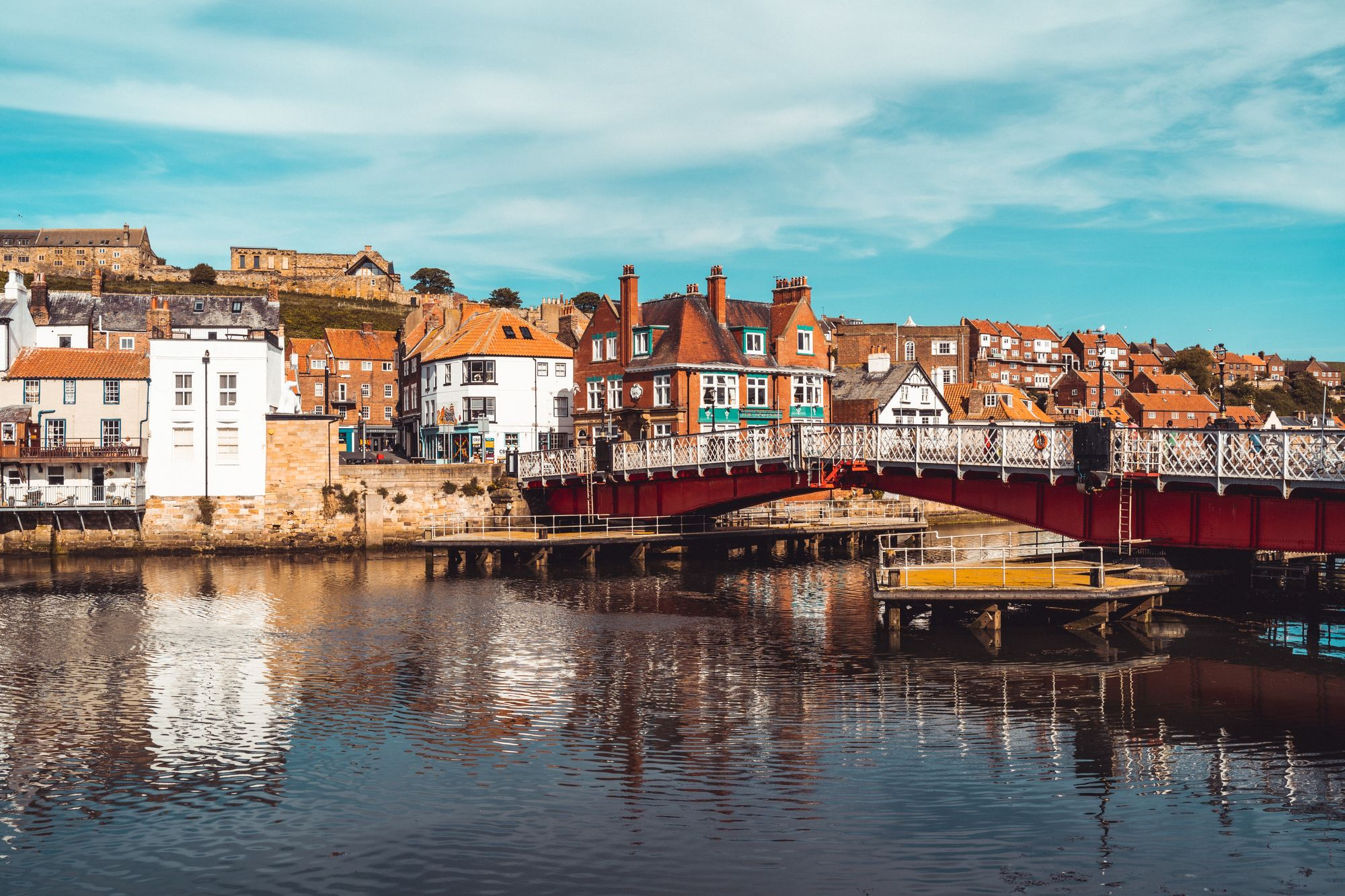 Sea view in Whitby, UK