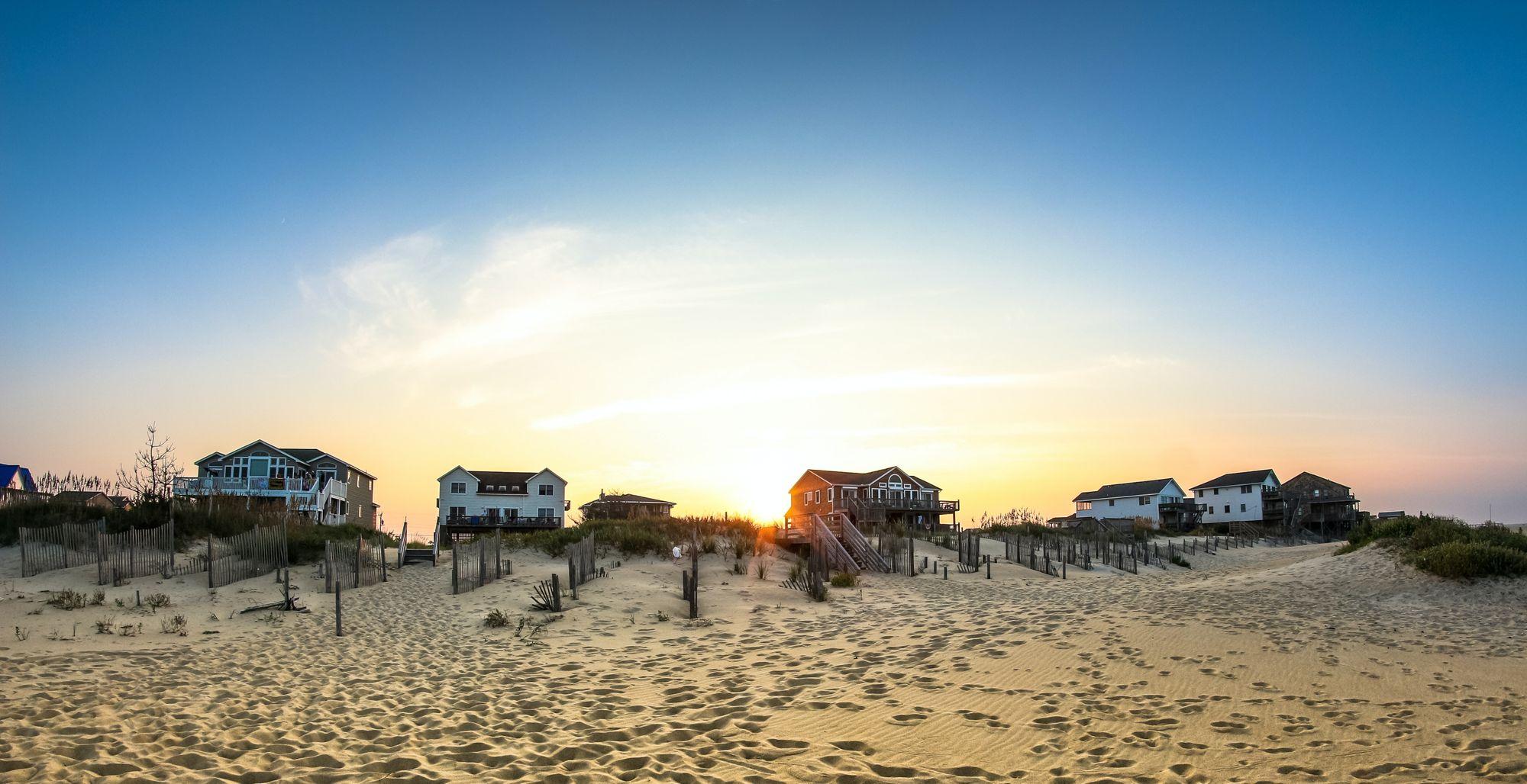 Beachfront in Nags Head, NC